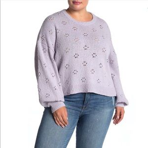 Madewell Lilac Pullover Sweater - 2X - NWT